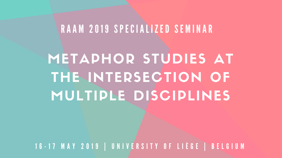 Researching and Applying Metaphor (RaAM) 2019 specialized seminar
